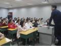 复旦大学唐璜教授莅临南部中学宣讲指导
