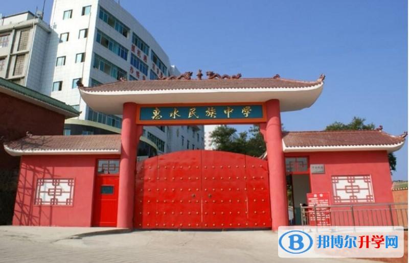惠水民族中学招生代码