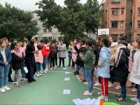 内江一中(九中)校区开展英语口语趣味活动