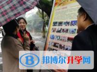 德国曼海姆中文学校校长刘元华一行到内江一中考察