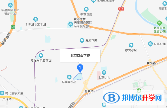北京京西学校地址在哪里