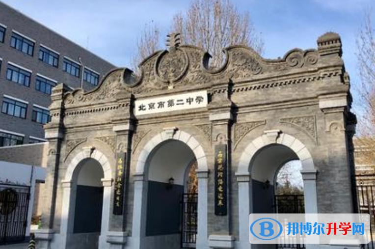 北京第二中学国际部2020年招生简章
