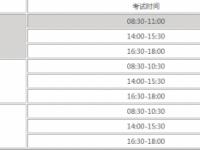 2021年楚雄中考日期