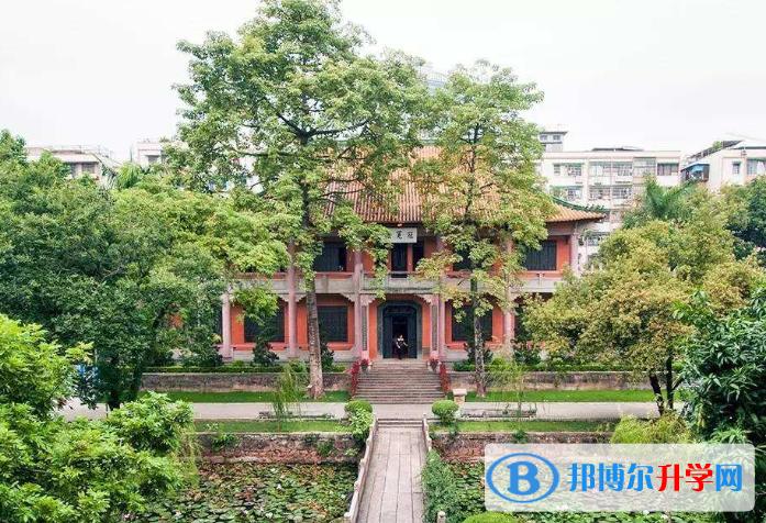 广东广雅中学博雅国际班2021年学费、收费多少
