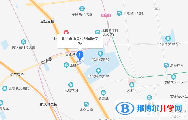 北京中关村外国语国际部地址在哪里